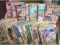 Massive paper craft magazine bundle