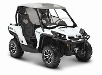 2015 Z-Can-am Commander 1000 Limited (NEUF)