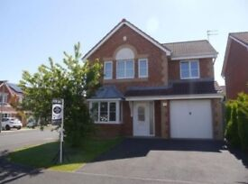 4 bedroom detached house for rent on quiet residential area of Bedlington