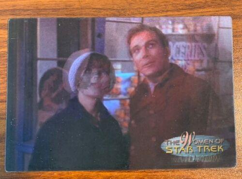 2000 Rittenhouse Women of Star Trek in Motion #9 Edith Keeler Free Shipping