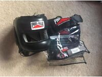 Pro-box full face head guard face saver size large