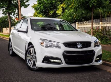 2014 Holden Commodore VF MY14 SV6 White 6 Speed Sports Automatic Sedan West Hindmarsh Charles Sturt Area Preview