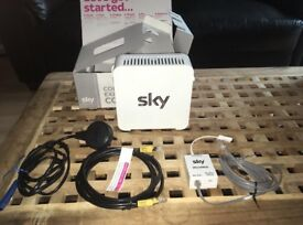 SKY HUB SR-101 WIRELESS INTERNET WHITE ROUTER