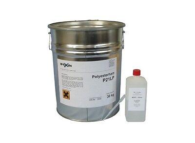 30kg Polyesterharz klebefreies Laminierharz Glasfasermatte HP-P21LP UP-Harz GfK