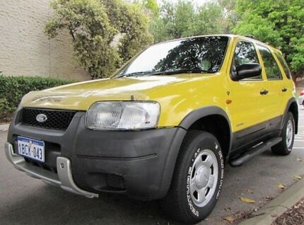 2002 Ford Escape BA XLT Sunburst 4 Speed Automatic Wagon Mount Lawley Stirling Area Preview