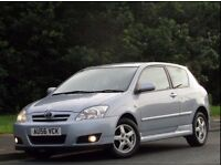 +++TOYOTA COROLLA COLOUR COLLECTION VVTI 1.4 3DR HATCHBACK+++