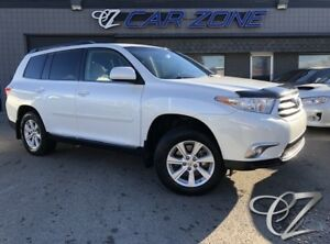 2012 Toyota Highlander One Owner, Low Kms, 4WD