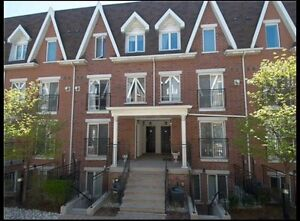 Great 3-storey 2 bedroom townhouse at King/Dufferin!