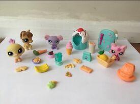 Littlest pet shop bundle rare