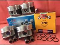 JDM NIPPON RACING FLOATING P30 B16A LS VTEC PISTON SET SIR II NPR 82MM Hot NEW