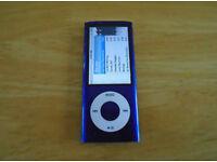 iPod nano 5th gen 8gb blue.