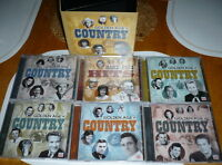 Golden Age of Country --10 CD Box Set for sale.