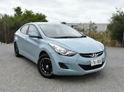 2013 Hyundai Elantra MD2 Active Blue 6 Speed Sports Automatic Sedan Ingle Farm Salisbury Area Preview
