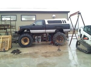 88 Silverado monster truck