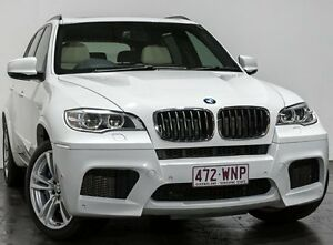 2012 BMW X5 E70 MY12.5 M Steptronic White 6 Speed Sports Automatic Wagon Rozelle Leichhardt Area Preview