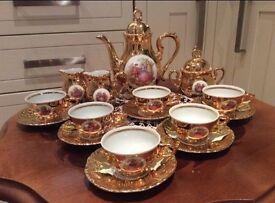 16 piece tea set / tea service