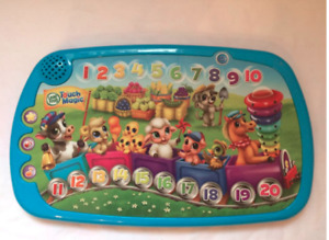 Leapfrog Touch Magic-Counting Train (5$)