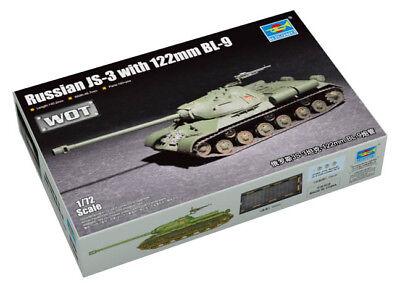 Trumpeter 9367163 Sowjetisch Kampfpanzer IS-3 mit 122mm BL-9 1:72 Modellbausatz