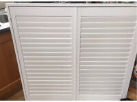 New White Wooden Shutters (Hillarys Made to Measure)