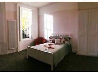 White Double Bed + Mattress IKEA 140x200