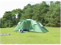 Trespass 6 man 2 bedroom tent