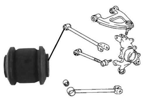 LEXUS LS400 4.0i V8 UCF20 1994-2001 Rear Upper Lateral Control Arm Rod Bush x1