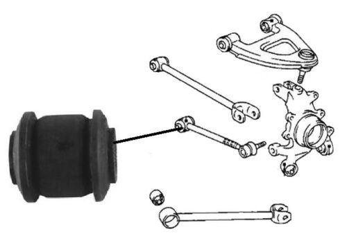 LEXUS LS400 4.0i V8 UCF20 1994-2001 Rear Lower Control Arm Rod Bush x1