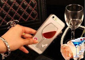 Case iPhone 7 wine glass