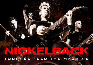 Nickelback/Daughtry Tickets For June 27th in Toronto