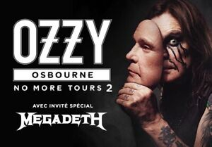 Ozzy Osbourne No More Tour 2 Centre Bell Parterre