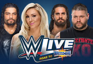 Wwe live floor seats. Friday march 24th