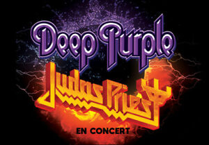 ♫ Billets PARTERRE // DEEP PURPLE + JUDAS PRIEST @ Centre Bell ♫
