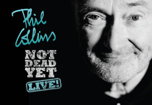 Phil Collins VIP Floor Gold Hot Seat ticket Montreal Oct 16th