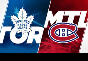 Canadiens vs Toronto, Excellents Gris Sous le Cost