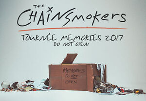 THE CHAINSMOKERS**JUNE 1ST* CENTRE BELL RED SECTION 102