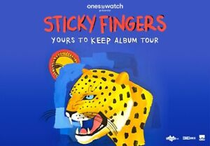 Sticky Fingers Tickets