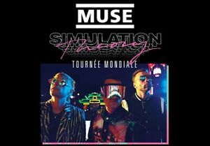 2 Muse Tickets, Bell Centre-March 30th