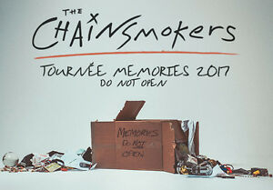 THE CHAINSMOKERS**JUNE 1ST* CENTRE BELL SECTION CLUB  / 1ST ROW