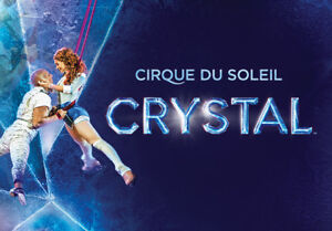 CRYSTAL CIRQUE TICKETS/SECTION 114/BELOW COST/SAVE $88.00