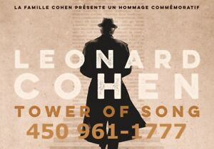 TOWER OF SONG - HOMMAGE À LEONARD COHEN !!!