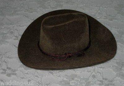 Western Party Favors Dolls Wedding Craft  (12) Mini Cowboy Hats Favors 2