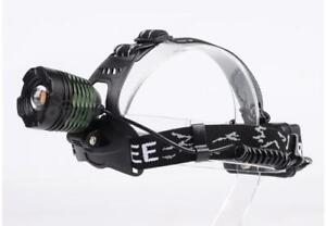 Outdoor Zoomable LED Headlamp alloy LED Headlight