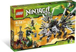 LEGO NINJAGO 9450 Epic Dragon Battle NEW SEAL IN BOX RETIRED SET