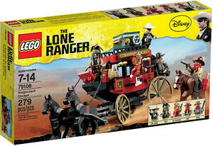 LEGO THE LONE RANGER 79108 Stagecoach Escape BRAND NEW SEALED