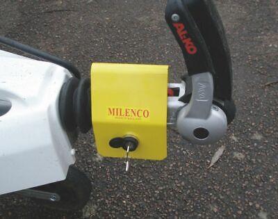 Milenco Caravan Alko Hitch Lock Lightweight AKS 2004 3004 AKS10 Hitchlock