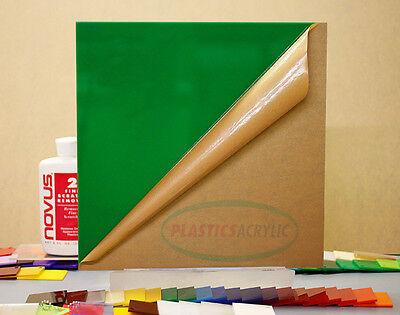 Green Translucentsolid Acrylic Plexiglass Sheet 116 X 6 X 12 2108