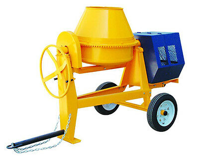9 Cf Cublic Cement Mixer With Electric Starter 13 Hp Gasoline Engline Dot Approv