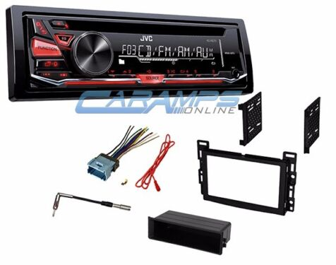 new jvc car stereo radio cd player receiver with complete ... jvc car stereo wiring harness to 1999 malibu