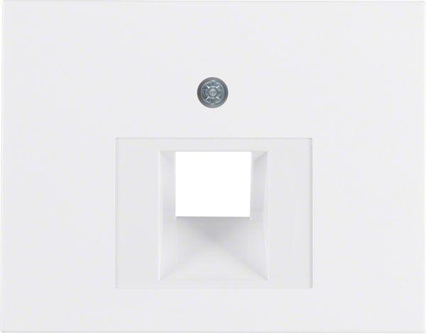 UAE Abdeckung BERKER Modell K1 polarweiss glänzend 14077009