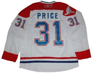 Carey Price - Chandail des Canadiens de Montréal™ Blanc Signé